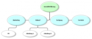 Organigramm Beispiel