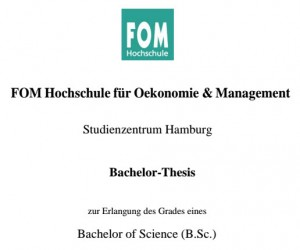 FOM Bachelor Thesis